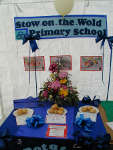 Winning entries for the Children's Potato Growing competition at the Flower & Produce Show