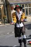 Juggler Mark dressed in 17th Century costume at The Cotswold Festival 2009