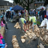 Dry stone walling showcase organised by the Cotswold Conservation Board